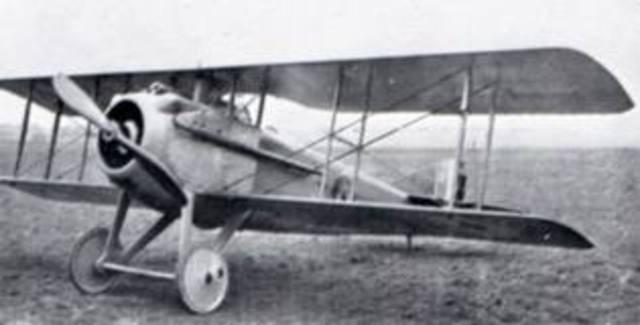 SPAD S.VII - First Flight