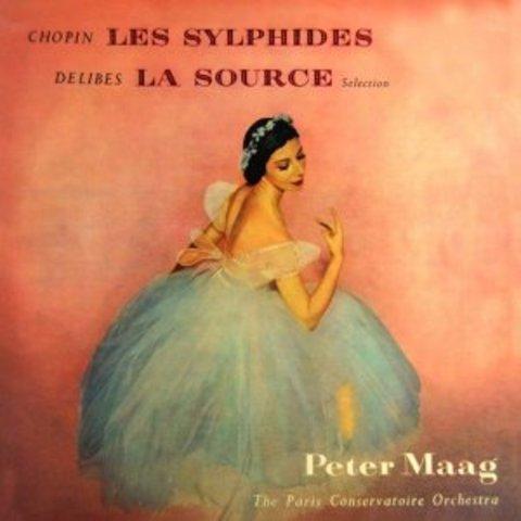 """Ballet """"La Source"""" (known as Naila), 1866"""