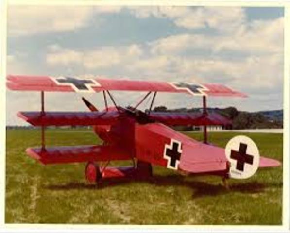 Fokker Dr.1 - First Flight