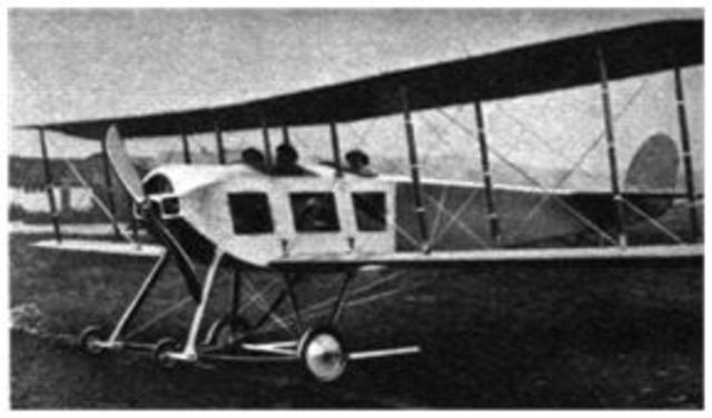 Creation of the Sopwith three-seater