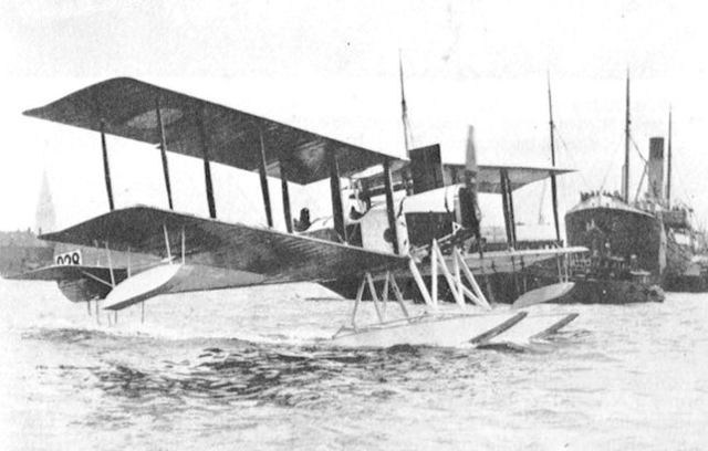Creation of the Sopwith Admiralty type C