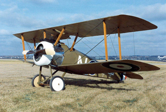 Creation of the Sopwith Camel