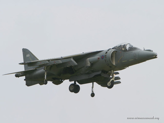 Creation of the Hawker Harrier Jump Jet