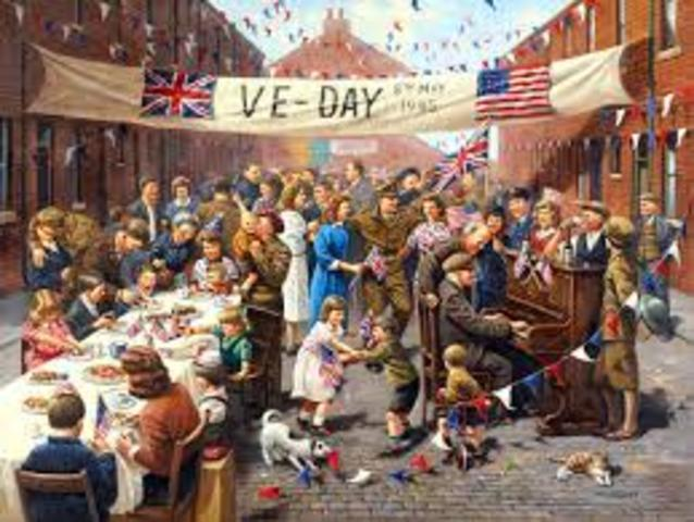 VE Day - The End of World War Two