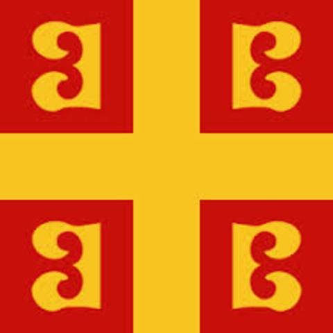 Comienzo del reinado de Bizancio