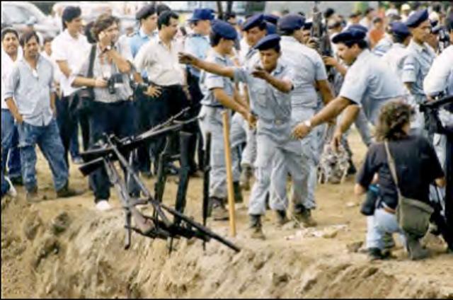 Se crea La Comisión Internacional de Apoyo y Verificación en Nicaragua (CIAV/OEA)
