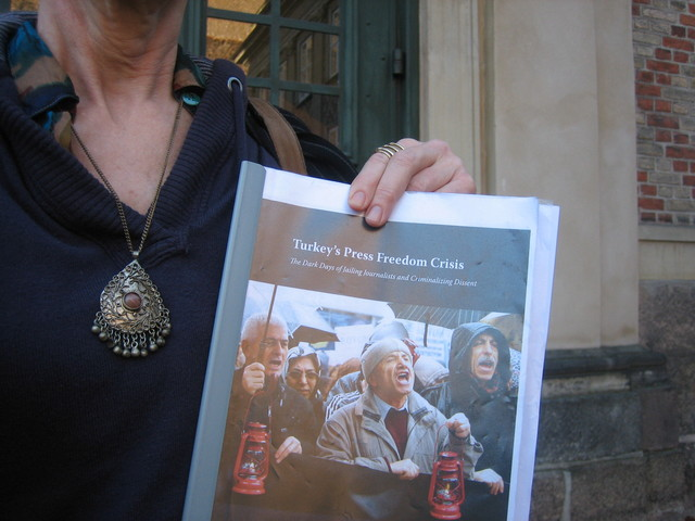 Tyrkiets pressefriheds krise
