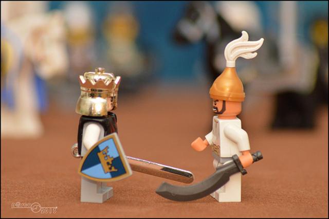 Truce between Saladin and Baldwin