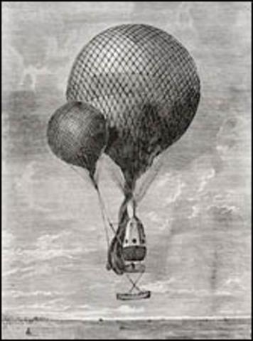 Washington H. Donaldson Balloon Flight
