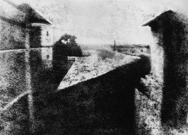 Joseph Niepce Creates First Photograph