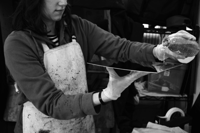 Collodian Wet Plate Process Created