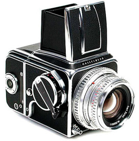 The Hasselblad is introduced