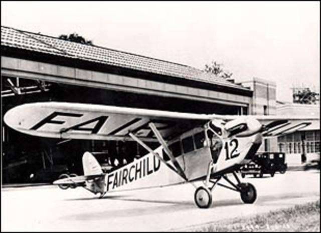 Test flight of FC-1