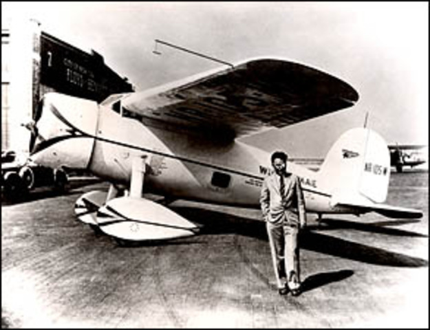 Wiley Post and Harold Gatty set an around-the-world speed record