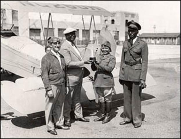 Harlem Air Squadron formed at Roosevelt Field.