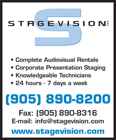 Jamie starts with Stagevision