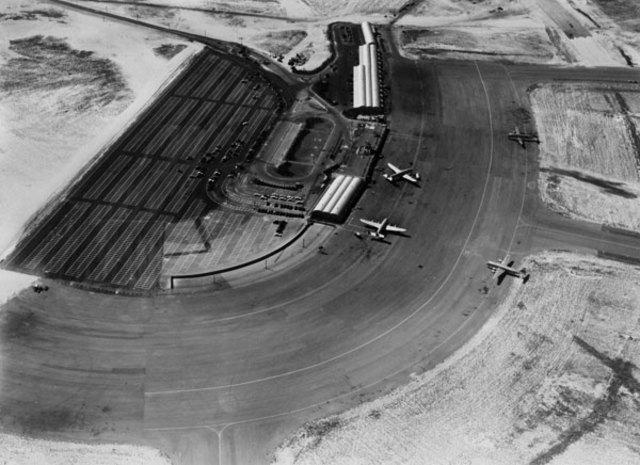Idlewild Airport (JFK Airport) opens on Jamaica Bay