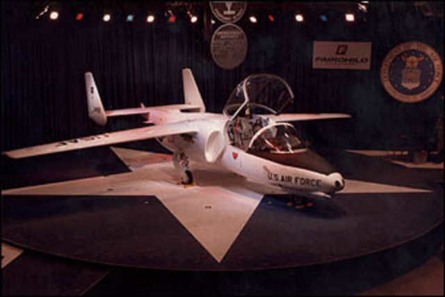 Air Force terminates contract for the T-46