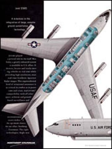 Northrop merges with Grumman.