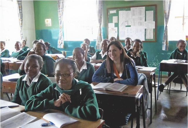 Michelle Travels to Kenya to Teach for the Summer