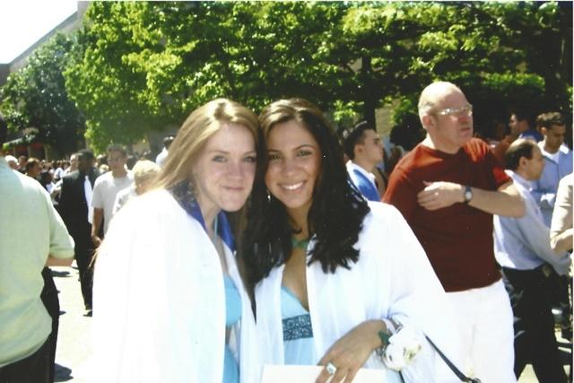 Michelle Graduates High School