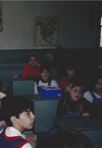 Michelle Goes to Old Bethpage in 2nd Grade