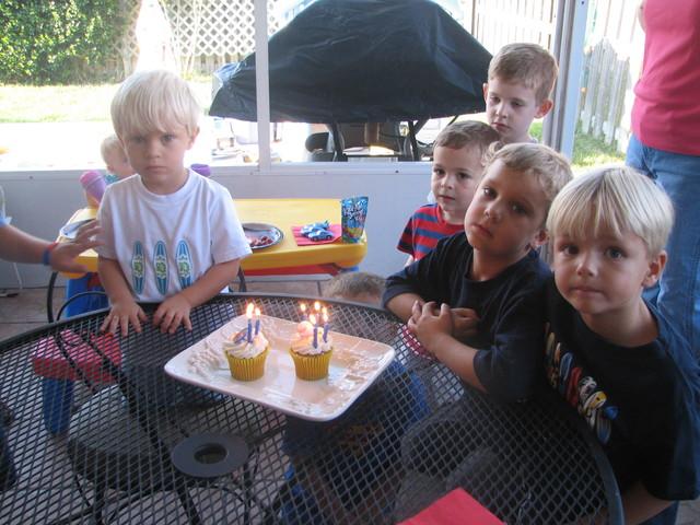 My fifth birthday
