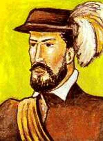 el navegante español Alonso de Ojeda llegó a las costas del norte de Colombia (Cabo de la Vela)