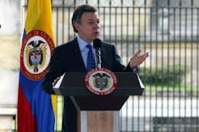 Juan manuel santos ala presidencia