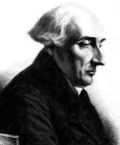 Joseph Louis de Lagrange (Turín – Italia)