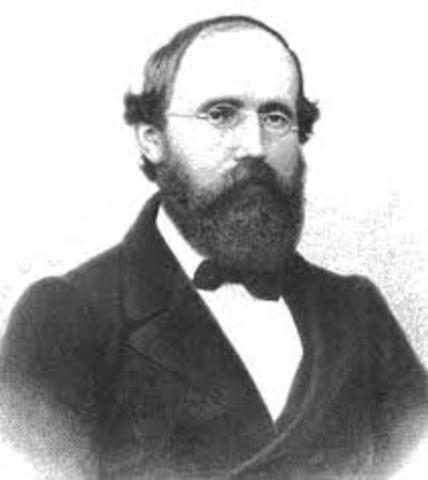 George Friedrich Bernhard Riemann (Breselenz – Alemania)