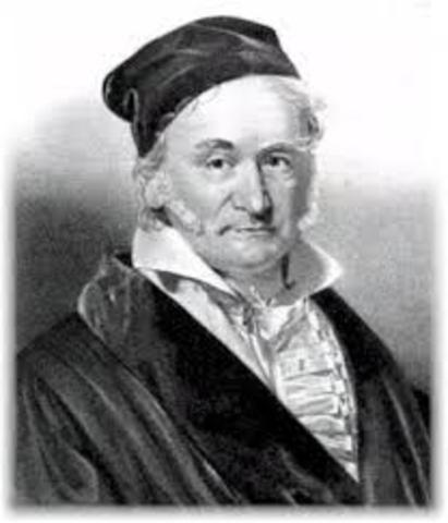 Johann Karl Friedrich Gauss (Brunswick – Alemania)