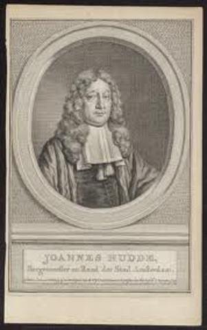 Johannes Hudde (Amsterdam – Países Bajos)