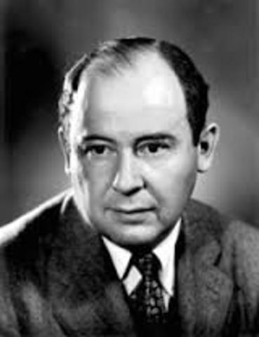 John Von Neumann (Budapest – Imperio Astrohúngaro)