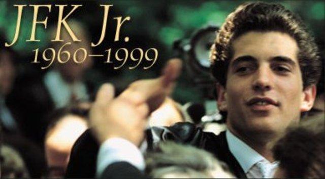 JFK Jr. Dies in Plane Crash