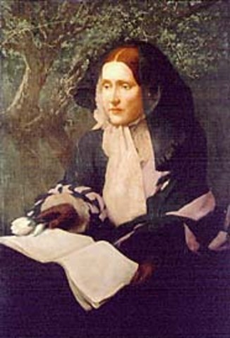 """Julia Ward Howe, inspired after seeing a review of General McClellan's army in the Virginia countryside near Washington, composes the lyrics to """"The Battle Hymn of the Republic."""" It is published in the Atlantic Monthly in February 1862"""