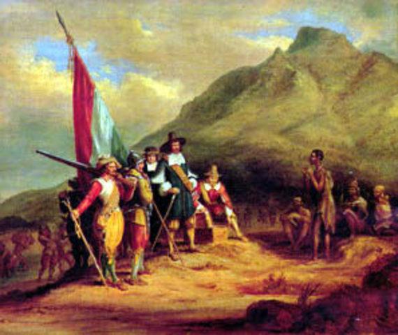 First Dutch settlement