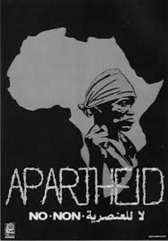 Creation of Apartheid