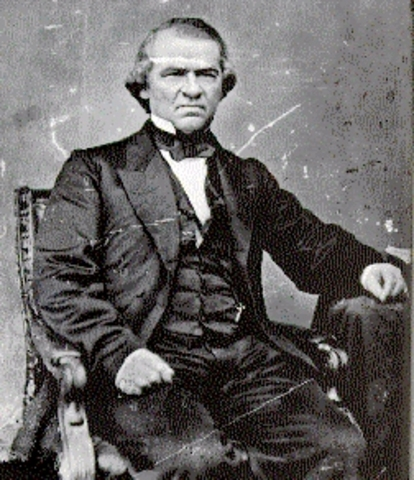 impeachment charges against President Andrew Johnson