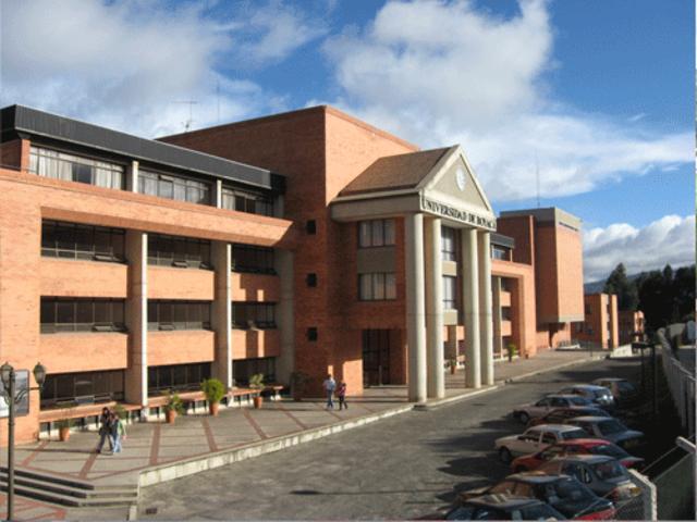 La Universidad de Boyacá fue fundada en la ciudad de Tunja