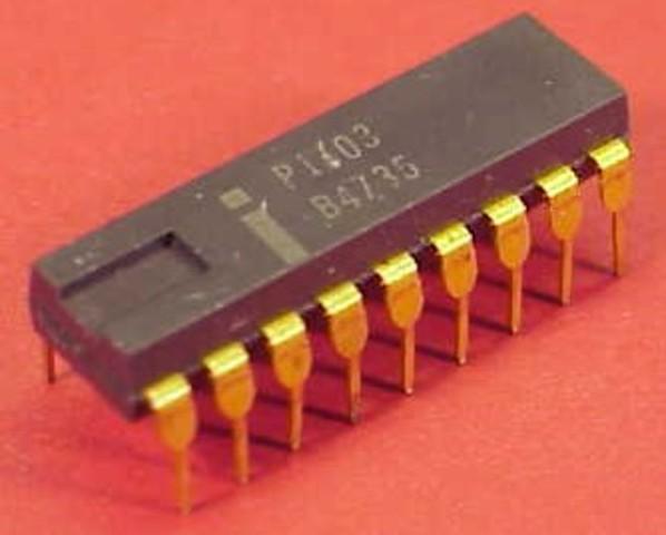 La primera memoria dinamica RAM