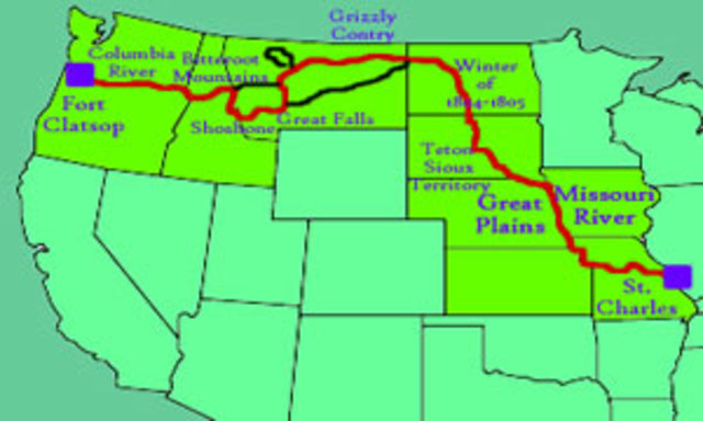 The Lewis & Clark Expedition Embarks from St. Louis