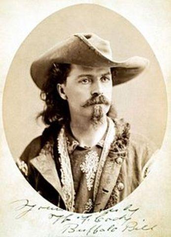 Buffalo Bill Kills Over 4,000 Buffalo