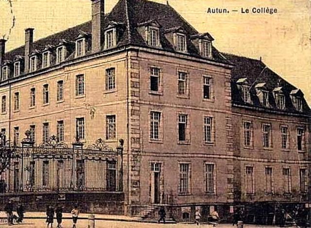 Napoleon and Joseph enter the college at Autun