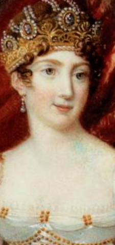 Hortense de Beauharnais born in Paris