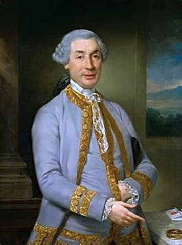 Napoleon's father, Carlo Buonaparte, dies of stomach cancer