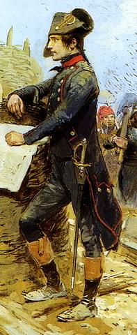 Napoleon begins the Siege of Toulon