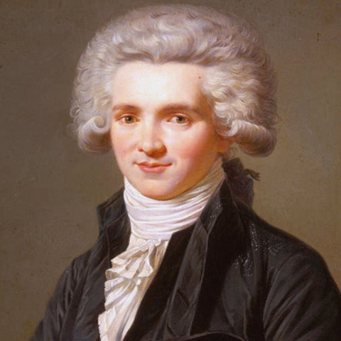 Robespierre guillotined in the Thermidorian reaction