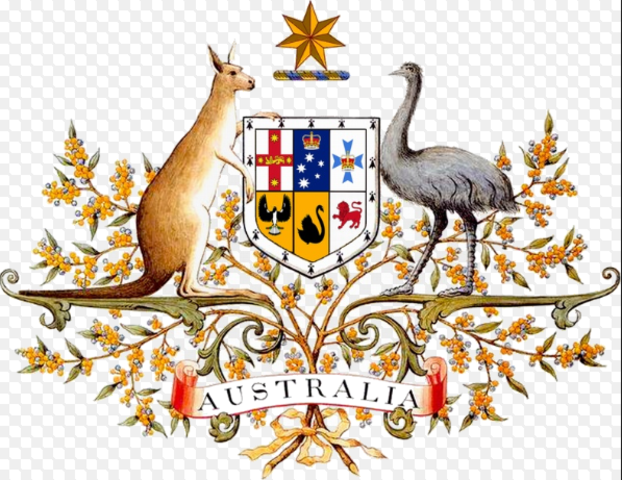 Australians celebrate the centenary of federation