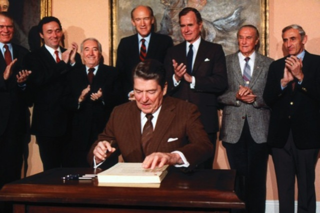 Immigration Reform and Control Act (IRCA) signed
